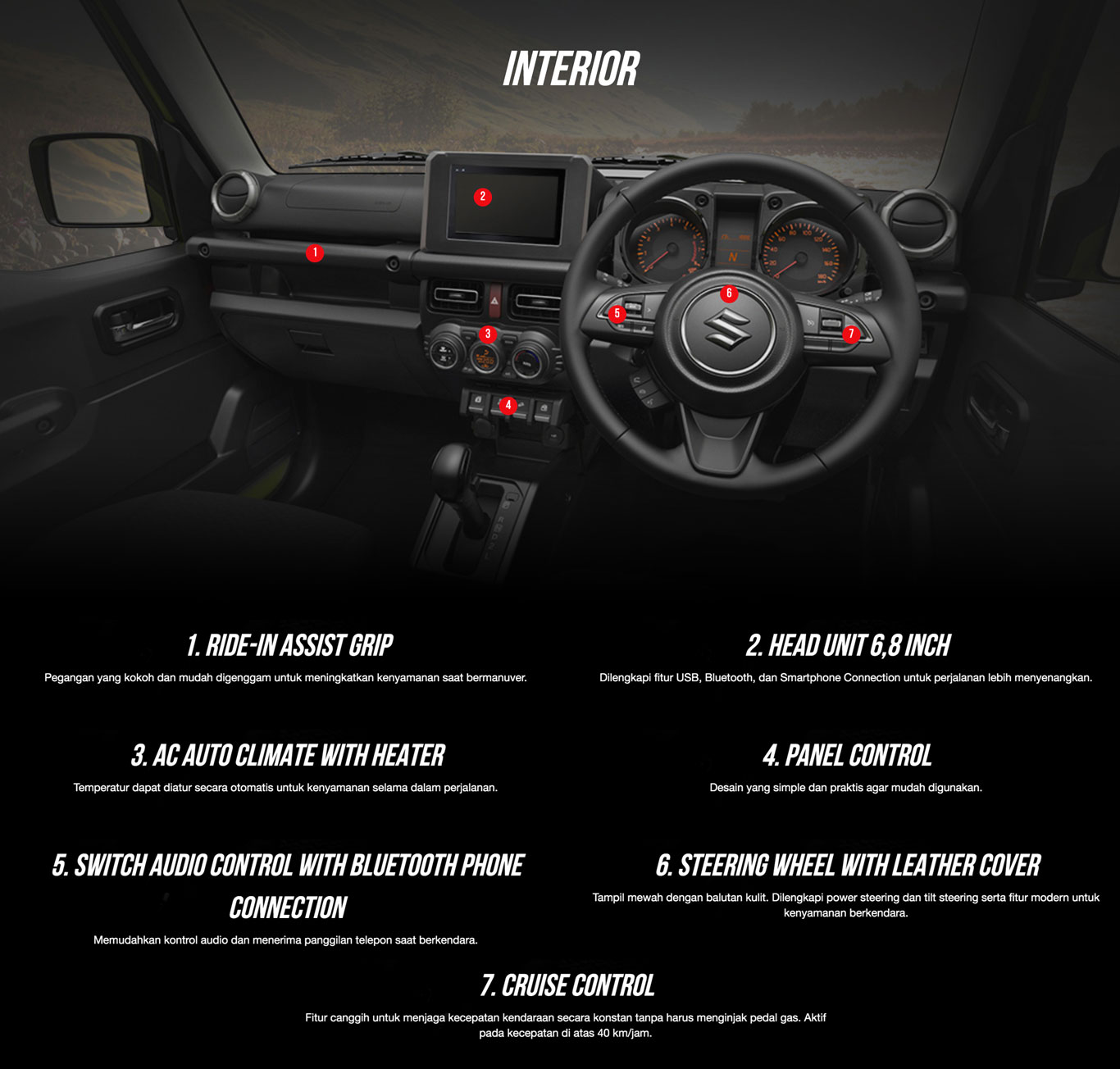 Jimny-interior